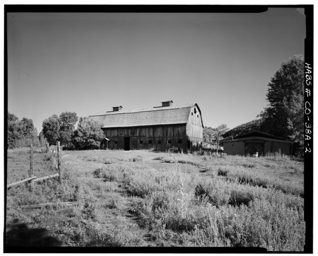 Ritter Ranch, Barn, Old Dolores Highway, Dolores, Montezuma County, CO
