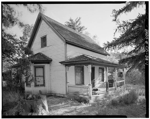 Ritter Ranch, Main House, Old Dolores Highway, Dolores, Montezuma County, CO