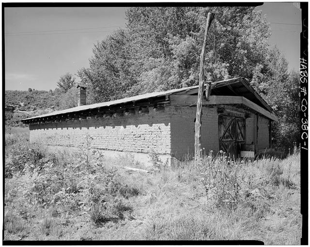 Ritter Ranch, Potato Shed, Dolores, Montezuma County, CO