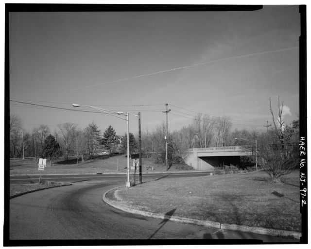 River Drive Overpass, Spanning River Drive (County Route No. 507) at U.S. Route 46, Elmwood Park, Bergen County, NJ