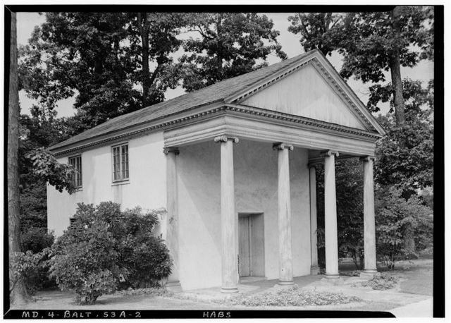Robert Goodloe Harper Dairy & Springhouse, (moved to Baltimore Museum of Art ..., Baltimore, Independent City, MD