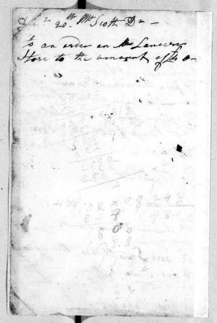 Robert Hays to John Donelson