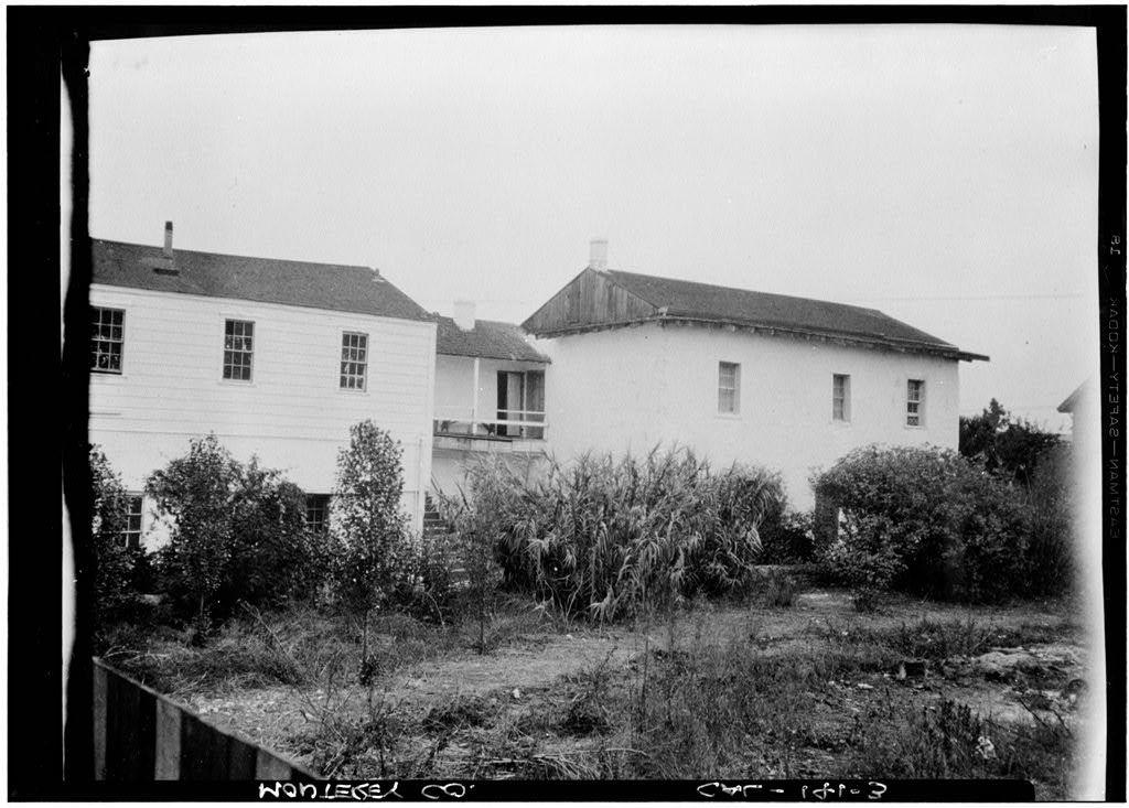 Robert Louis Stevenson House, 530 Houston Street, Monterey, Monterey County, CA
