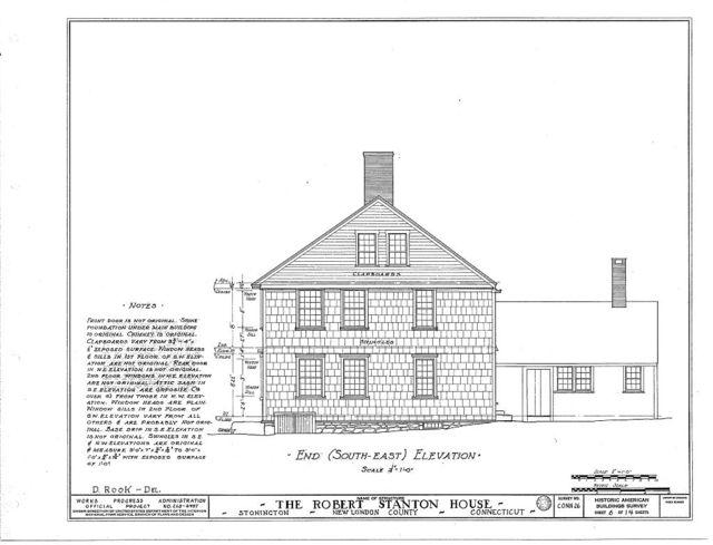 Robert Stanton House, Stonington, New London County, CT