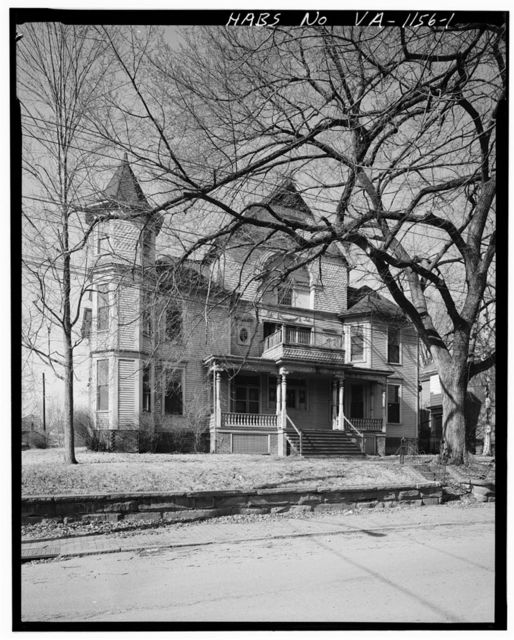 Robert Withers Massie House, Federal & Tenth Streets, Lynchburg, Lynchburg, VA
