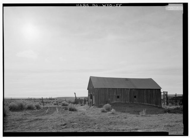 Rock Creek Station, Junction of Rock Creek & Union Pacific Railroad, Rock River, Albany County, WY