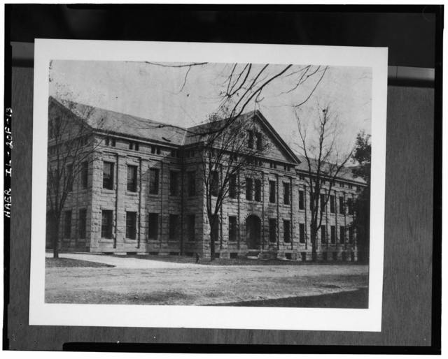 Rock Island Arsenal, Building No. 102, Rodman Avenue between Gillespie Avenue & First Street, Rock Island, Rock Island County, IL