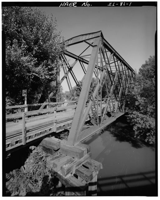 Rock Island Railroad, Illinois & Michigan (I&M) Canal Bridge, Spanning I&M Canal, east of Calhoun Street, Morris, Grundy County, IL