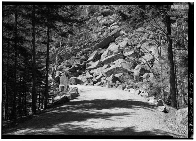 Rockefeller Carriage Roads, Mount Desert Island, Bar Harbor, Hancock County, ME