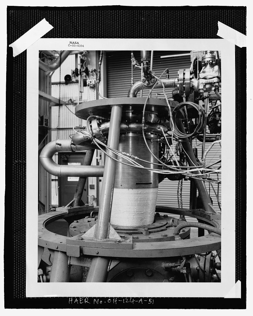 Rocket Engine Testing Facility, GRC Building No. 202, NASA Glenn Research Center, Cleveland, Cuyahoga County, OH