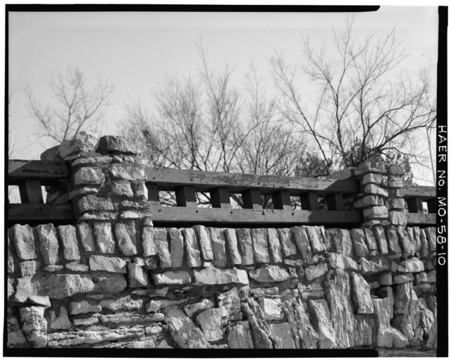 Rockhill Road Bridge, Spanning Brush Creek between Forty-eighth & Volker, Kansas City, Jackson County, MO