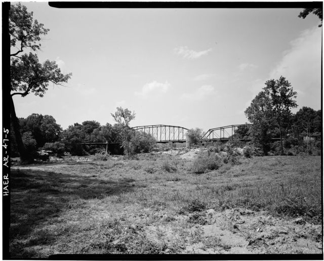 Rockport Bridge, Spanning Ouachita River at Old State Highway No. 84, Malvern, Hot Spring County, AR