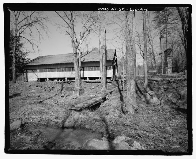 Rocky Bottom 4-H Camp, Dining Hall, Intersection of Routes 178 & 199, Pickens, Pickens County, SC
