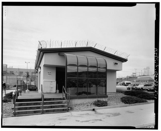 Rocky Flats Plant, Access Control Building, North of building 771, in parking area 71, just south of North Perimeter Road, Golden, Jefferson County, CO