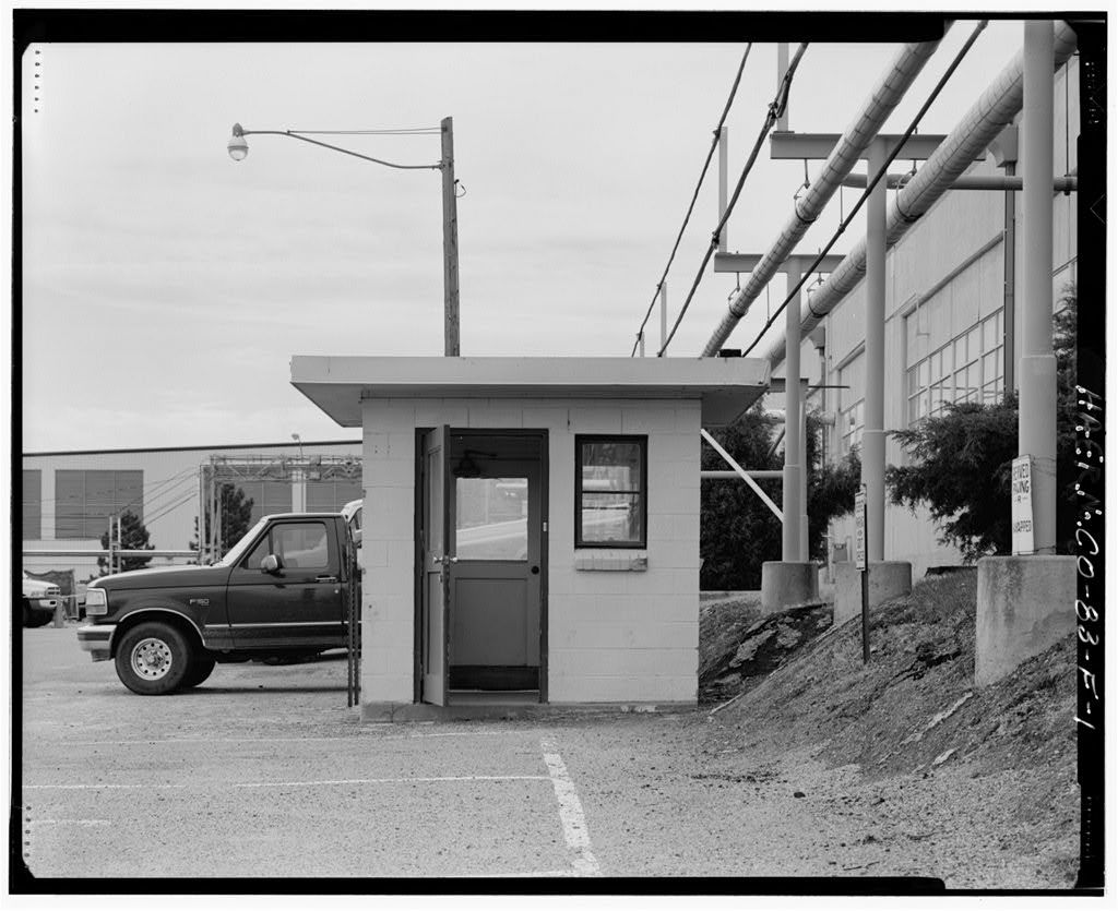Rocky Flats Plant, Bus Stop Shelter, West side of Fourth Street, south of Central Avenue, Golden, Jefferson County, CO