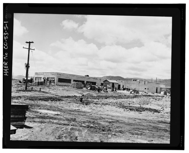 Rocky Flats Plant, Emergency Medical Services Facility, Southwest corner of Central & Third Avenues, Golden, Jefferson County, CO
