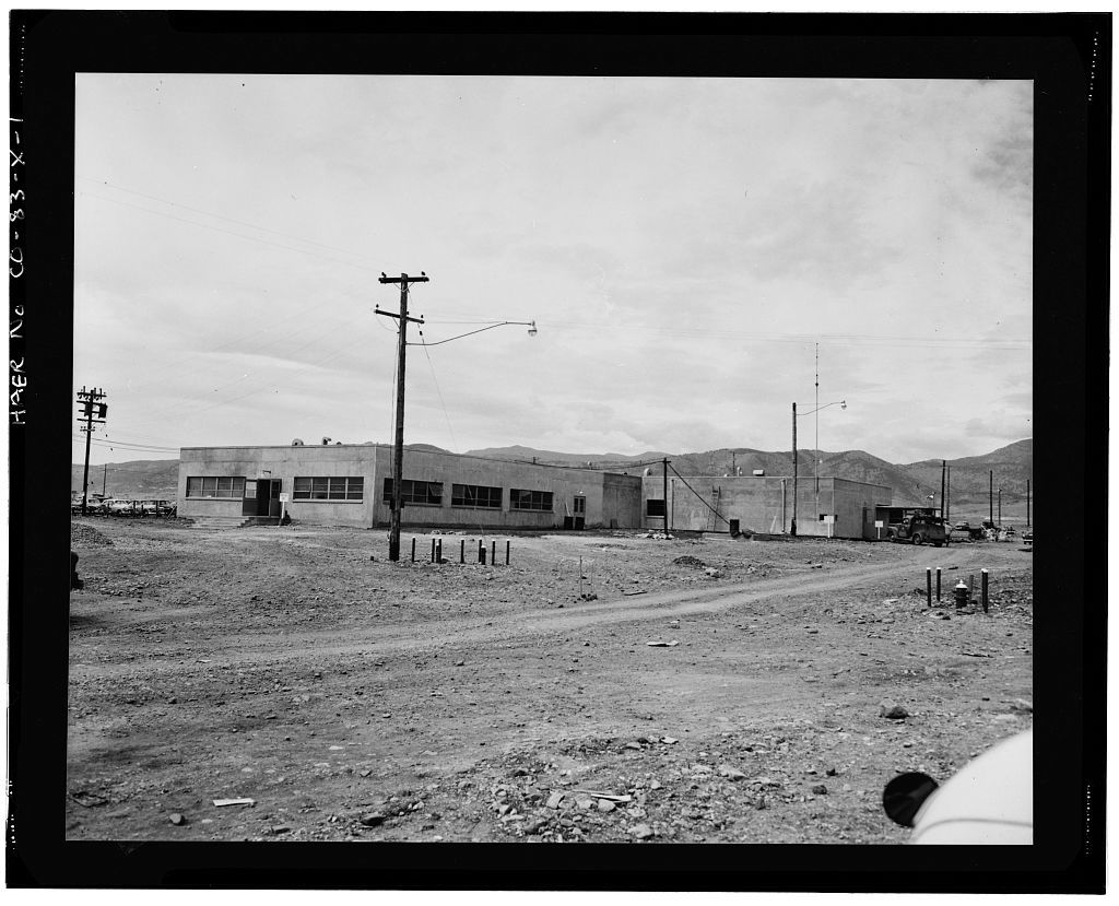 Rocky Flats Plant, Security & Armory, West of Third Street, south of Central Avenue, Golden, Jefferson County, CO
