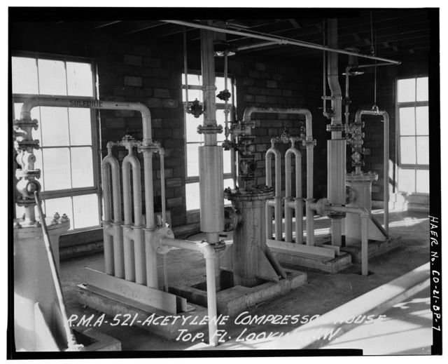 Rocky Mountain Arsenal, Acetylene Compressor House, 700 feet South of December Seventh Avenue; 1100 feet East of D Street, Commerce City, Adams County, CO