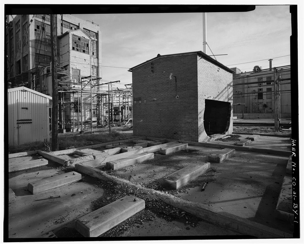 Rocky Mountain Arsenal, Acetylene Gas Holder Building, 530 feet South of December Seventh Avenue; 1020 feet East of D Street, Commerce City, Adams County, CO