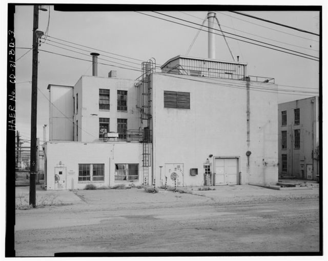 Rocky Mountain Arsenal, Acetylene Scrubbing Building-Product Development Laboratory, 700 feet South of December Seventh Avenue; 1030 feet East of D Street, Commerce City, Adams County, CO