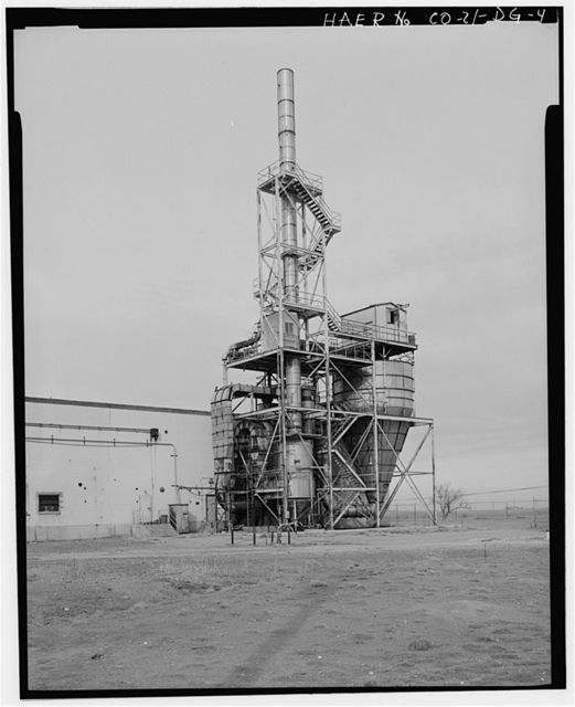 Rocky Mountain Arsenal, Ammunition Demolition Building, 3250 feet South of Ninth Avenue; 1750 feet West of E Street, Commerce City, Adams County, CO