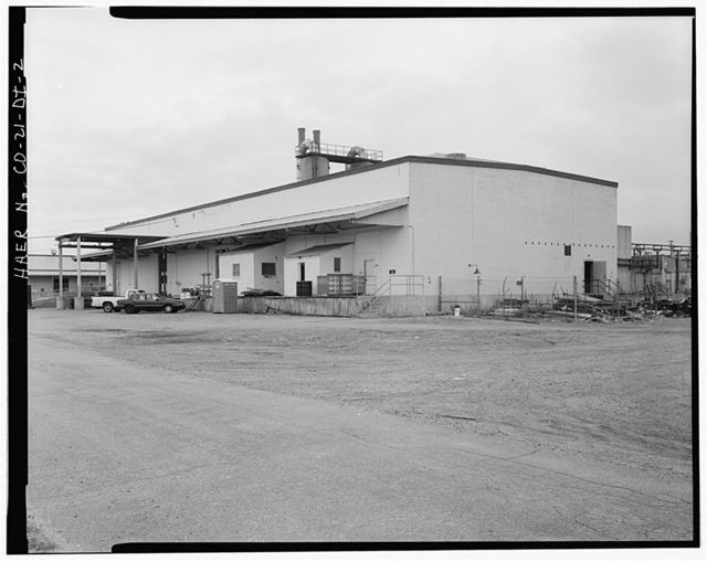 Rocky Mountain Arsenal, Ammunition Demolition Building-Tail Fin Storage & Assembly, 2750 feet South of Ninth Avenue; 3480 feet East of D Street, Commerce City, Adams County, CO