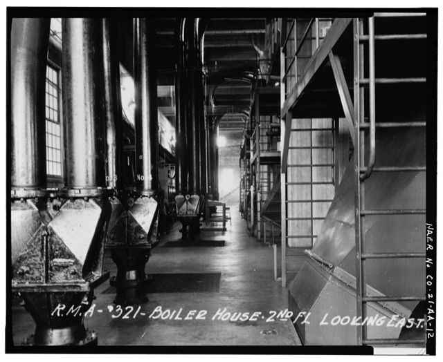 Rocky Mountain Arsenal, Boiler Plant-Central Gas Heat Plant, 1022 feet South of December Seventh Avenue; 525 feet West of D Street, Commerce City, Adams County, CO