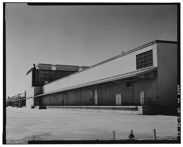 Rocky Mountain Arsenal, Cluster Bomb Assembly-Filling-Storage Building, 3500 feet South of Ninth Avenue; 2870 feet East of D Street, Commerce City, Adams County, CO