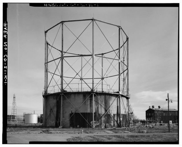 Rocky Mountain Arsenal, East Gas Holder, December Seventh Avenue & D Street, Commerce City, Adams County, CO
