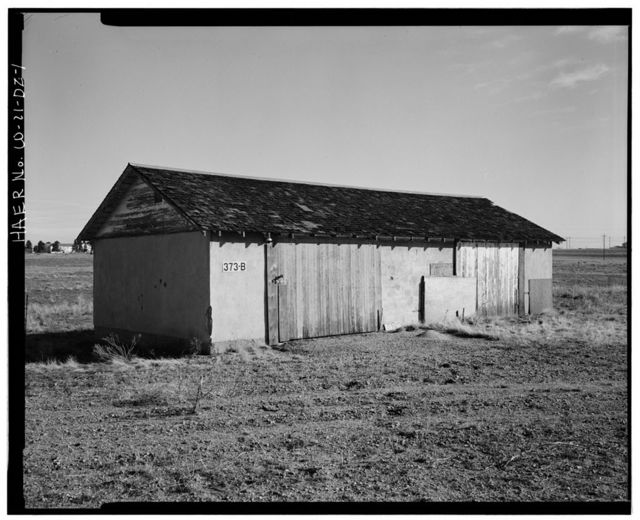 Rocky Mountain Arsenal, Garage, 1940 feet South of December Seventh Avenue; 950 feet East of C Street, Commerce City, Adams County, CO