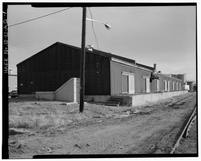 Rocky Mountain Arsenal, Laundry Warehouse, 850 feet South of December Seventh Avenue; 190 feet East of D Street, Commerce City, Adams County, CO