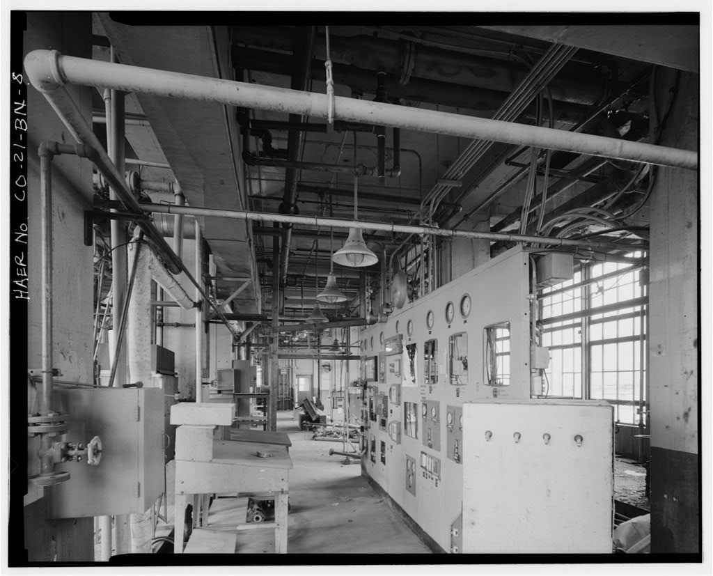 Rocky Mountain Arsenal, Lewisite-Distilled Mustard Manufacturing Building, 540 feet South of December Seventh Avenue; 1100 feet East of D Street, Commerce City, Adams County, CO