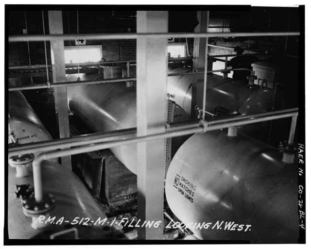 Rocky Mountain Arsenal, Lewisite Filling & Distilled Mustard Filling Building, 420 feet South of December Seventh Avenue; 820 feet East of D Street, Commerce City, Adams County, CO