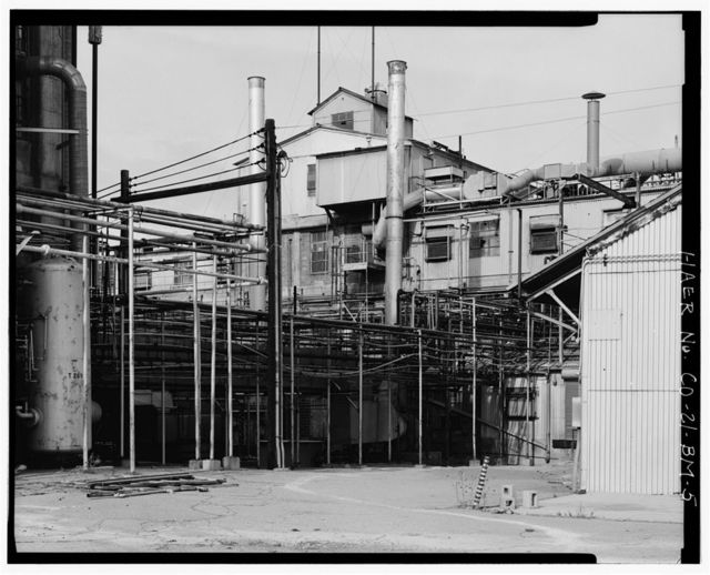 Rocky Mountain Arsenal, Lewisite Reactor & Distilled Mustard Distillation Building, 420 feet South of December Seventh Avenue; 1070 feet East of D Street, Commerce City, Adams County, CO