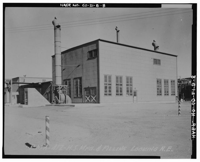 Rocky Mountain Arsenal, Mustard Manufacturing-Filling Building, December Seventh Avenue & D Street, Commerce City, Adams County, CO