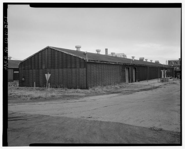Rocky Mountain Arsenal, Pesticide Filling & Storage Building, 390 feet South of December Seventh Avenue; 200 feet East of D Street, Commerce City, Adams County, CO
