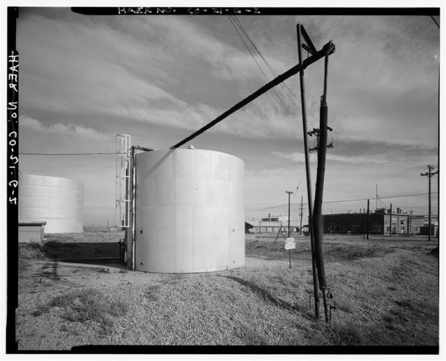 Rocky Mountain Arsenal, Storage Tank, December Seventh Avenue & D Street, Commerce City, Adams County, CO