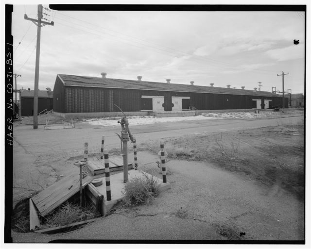 Rocky Mountain Arsenal, Storage Warehouse, 280 feet South of December Seventh Avenue; 180 feet East of D Street, Commerce City, Adams County, CO