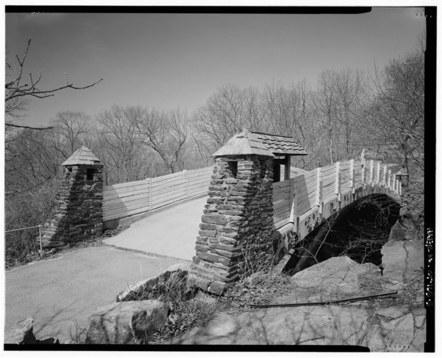 Rocky Neck Park Trail Bridge, Foot trail over New Haven Railroad, Old Lyme, New London County, CT