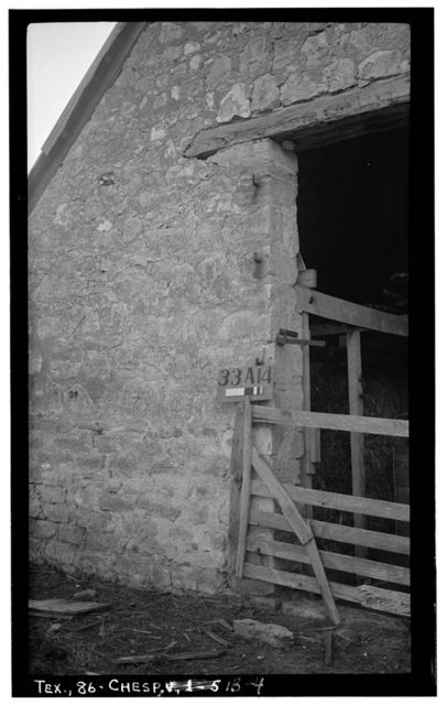 Rode-Kothe Sheep Barn, East of U.S. 87 at Cherry Spring, Cherry Spring, Gillespie County, TX