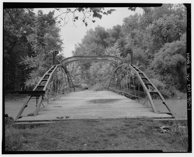Rodrick Bridge, Spanning Wills Creek, Otsego, Muskingum County, OH