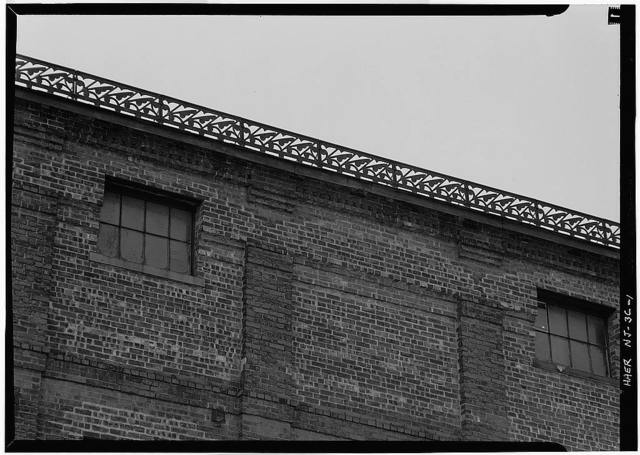Rogers Locomotive & Machine Works, Millwright Shop, Spruce & Market Streets, Paterson, Passaic County, NJ