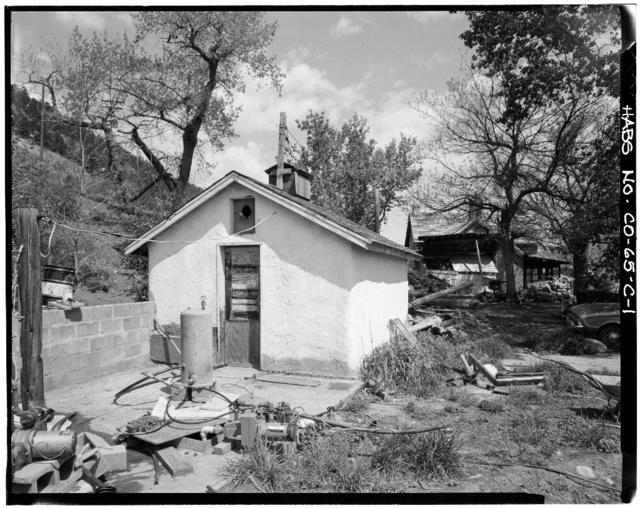 Rooney Ranch, Spring House No. 1, Rooney Road & West Alamdea Parkway, Morrison, Jefferson County, CO