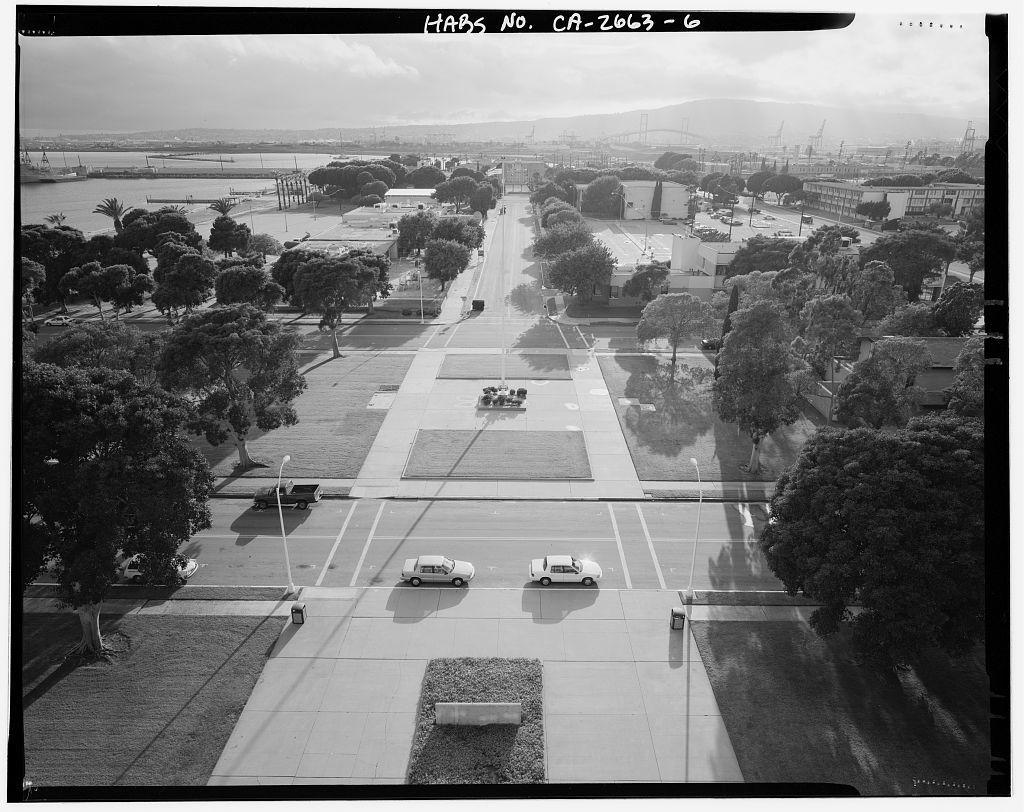 Roosevelt Base, Bounded by Ocean Boulevard, Pennsylvania Avenue, Richardson Avenue, & Idaho Street, Long Beach, Los Angeles County, CA