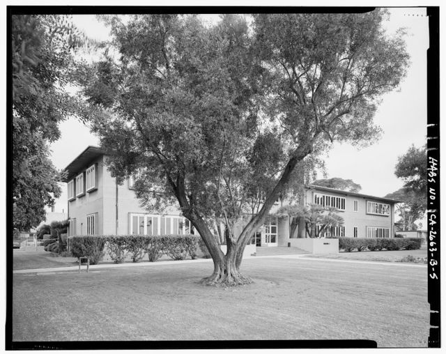 Roosevelt Base, Dispensary, Corner of Colorado Street & Richardson Avenue, Long Beach, Los Angeles County, CA