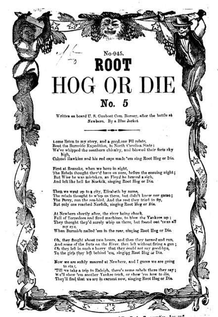 Root hog or die. No. 5