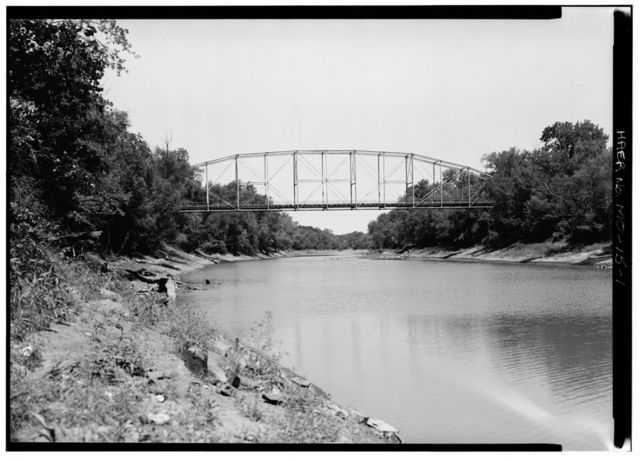 Roscoe Bridge, Spanning Osage River on State Highway E, Roscoe, St. Clair County, MO