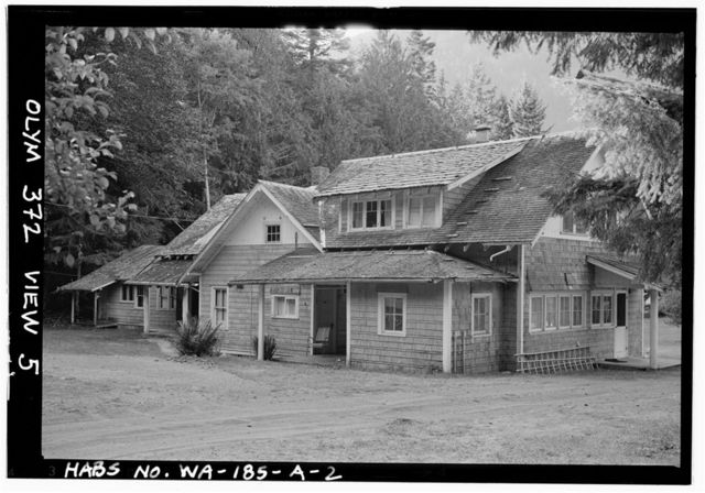 Rosemary Inn, Lodge, Olympic National Forest, Barnes Point, Lake Crescent, Port Angeles, Clallam County, WA