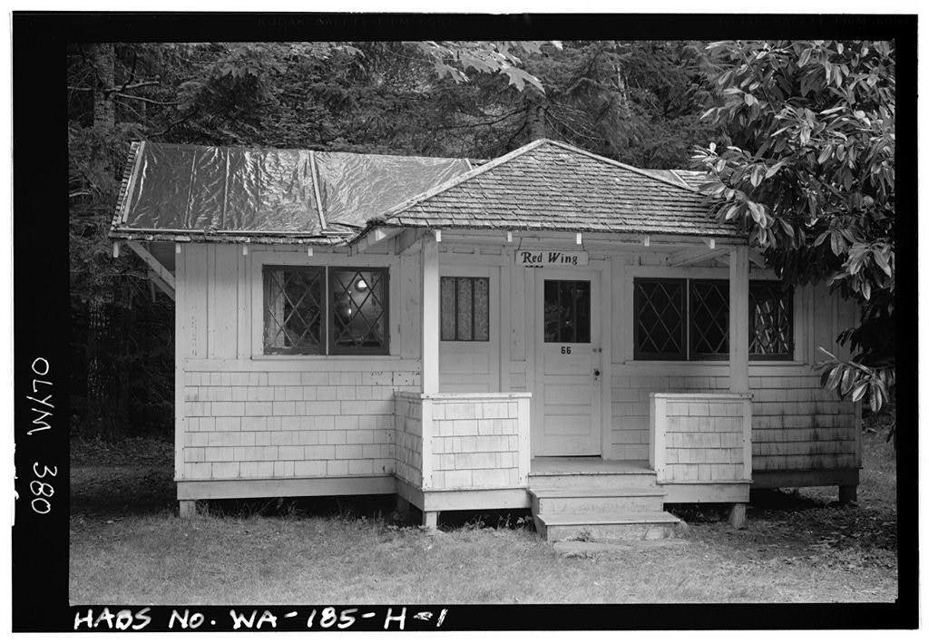 Rosemary Inn, Red Wing Cabin, Olympic National Forest, Barnes Point, Lake Crescent, Port Angeles, Clallam County, WA