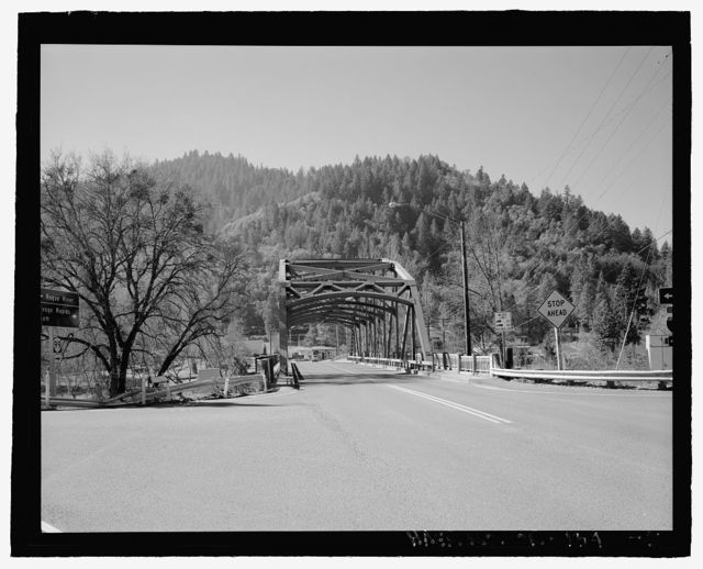 Rouge River Bridge, Spanning Rouge River on Depot Street, Rogue River, Jackson County, OR